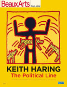 Keith Haring, The Political Line, Beaux Arts éditions