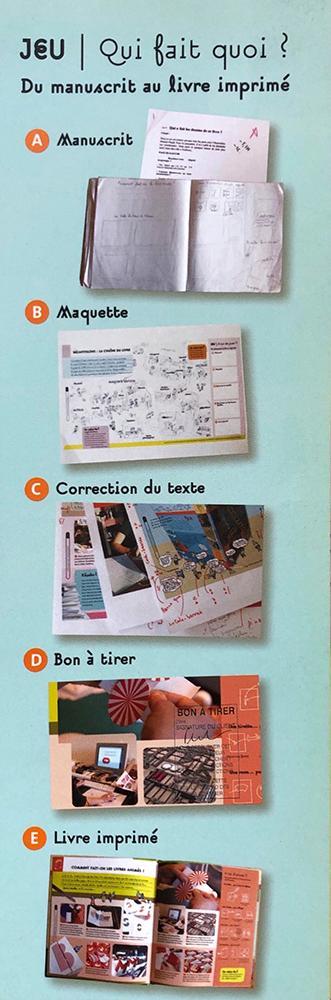 La correction, une des étapes du manuscrit au livre imprimé